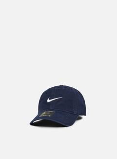 Nike - H86 Classic Swoosh Cap, Obsidian/White