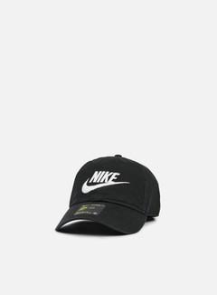 Nike - H86 Futura Washed Cap, Black/White 1