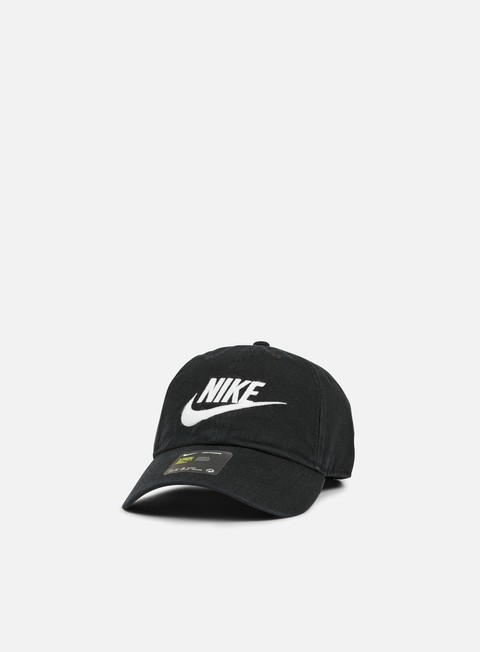 cappellini nike h86 futura washed cap black white
