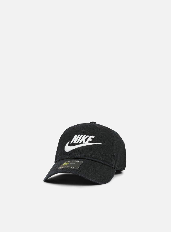 Nike - H86 Futura Washed Cap, Black/White