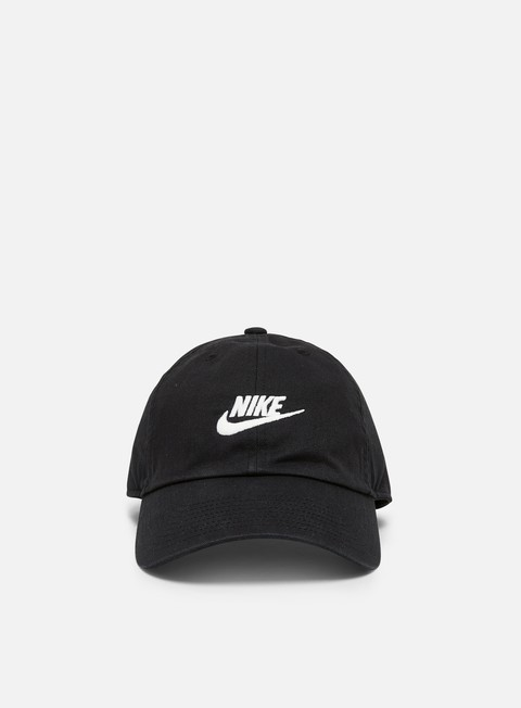 Curved Brim Caps Nike H86 Futura Washed Cap