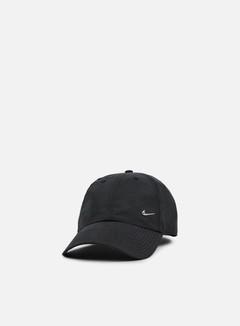 Nike - H86 Metal Swoosh Cap, Black/Metallic Silver 1