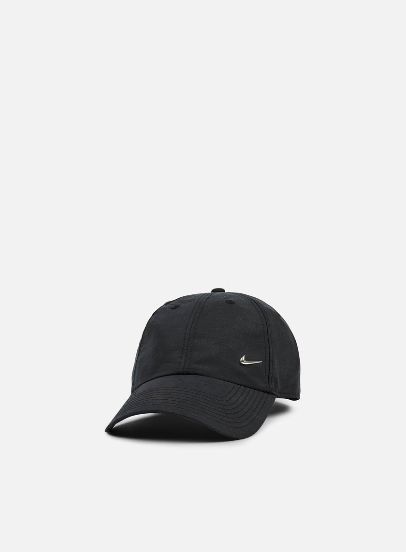 Nike - H86 Metal Swoosh Cap, Black/Metallic Silver