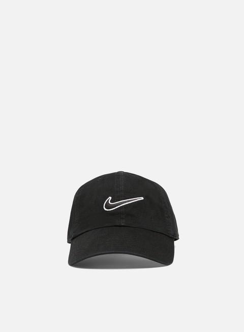 Curved Brim Caps Nike NSW H86 Swoosh Wash Cap