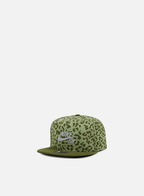 cappellini nike sb aerobill snapback cap legion green palm green