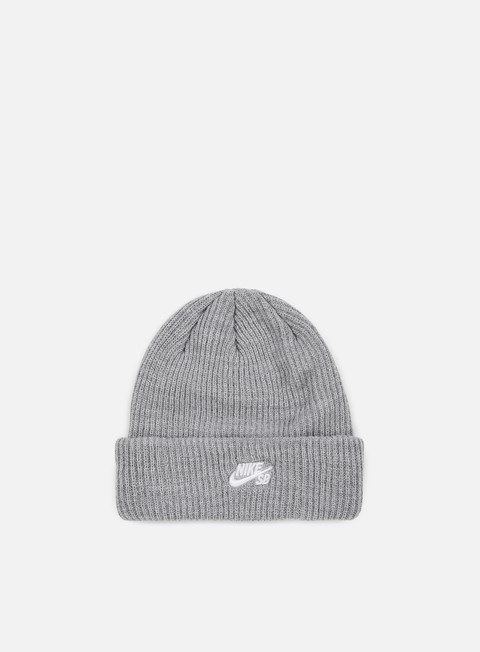 cappellini nike sb fisherman beanie dark heather grey