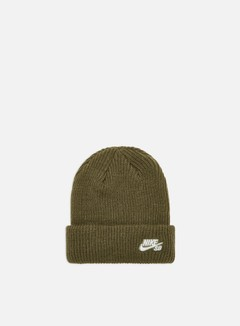 Nike SB - Fisherman Beanie, Medium Olive/White