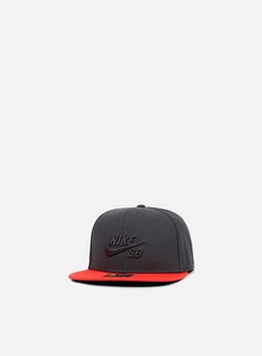 Nike SB - Icon Pro Snapback, Anthracite/Anthracite