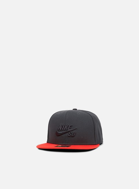 cappellini nike sb icon pro snapback anthracite anthracite