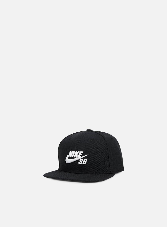 Nike SB - Icon Pro Snapback, Black/White
