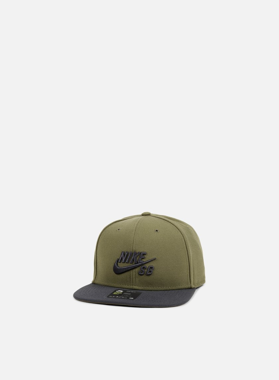 Nike SB - Icon Pro Snapback, Medium Olive/Anthracite