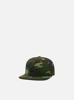 Nike SB - Icon Pro Snapback, Medium Olive/Black