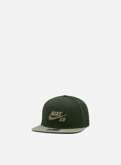 Nike SB - Icon Pro Snapback, Sequoia/Neutral Olive