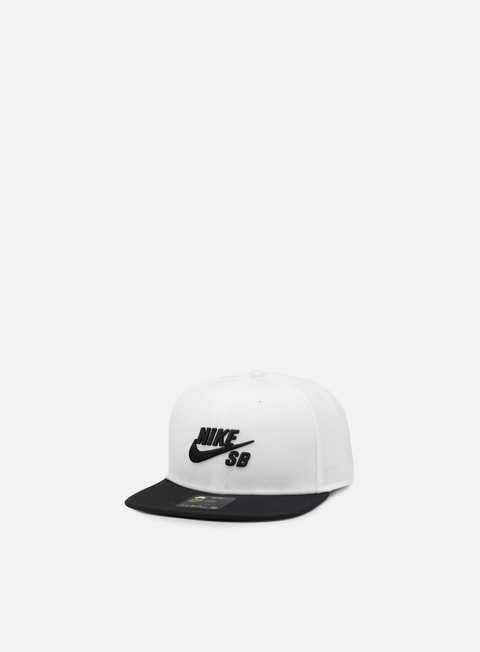 cappellini nike sb icon pro snapback white black