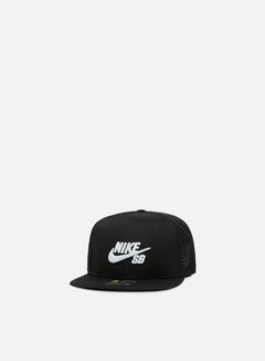 Nike SB - Icon Trucker Snapback, Black/White