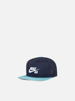 Nike SB - Icon Trucker Snapback, Obsidian/White 1