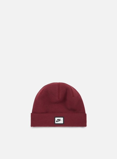 cappellini nike tech beanie dark team red black