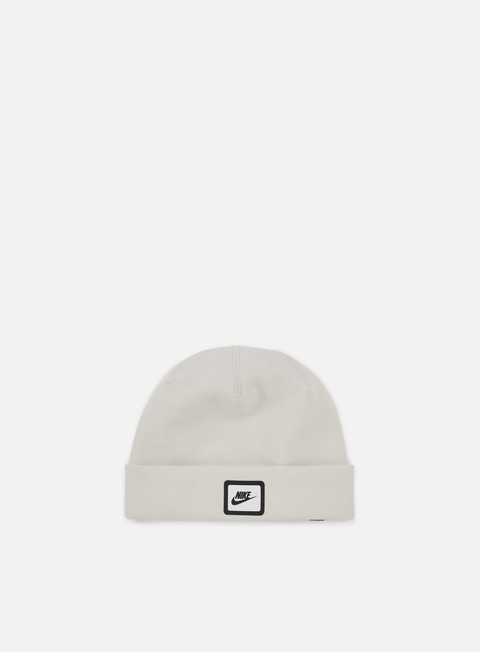cappellini nike tech beanie light bone black