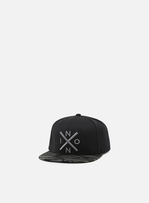 cappellini nixon exchange snapback black dark tiger camo