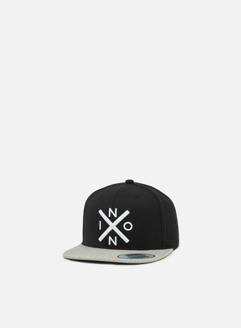 cappellini nixon exchange snapback black heather grey