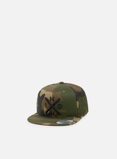 Nixon - Exchange Snapback, Woodland Camo 1