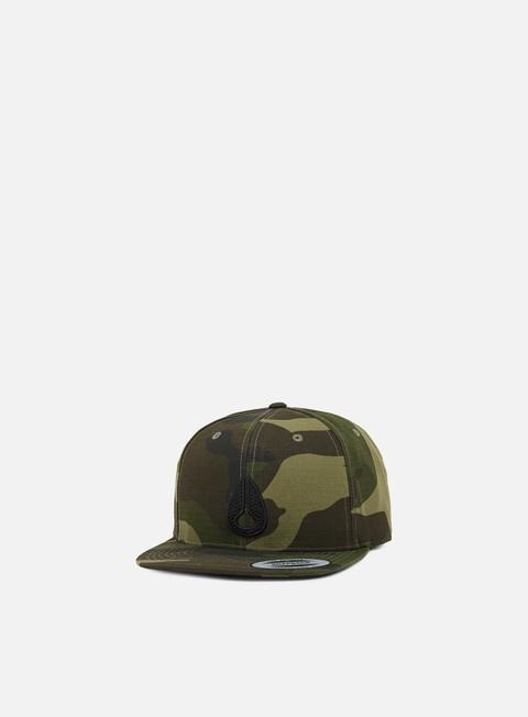cappellini nixon icon snapback woodland camo