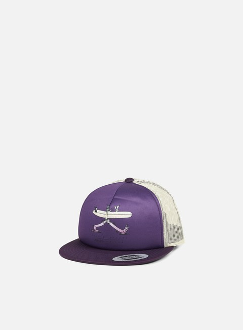 cappellini nixon pop trucker deep purple