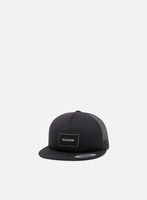 cappellini nixon ridge trucker hat black