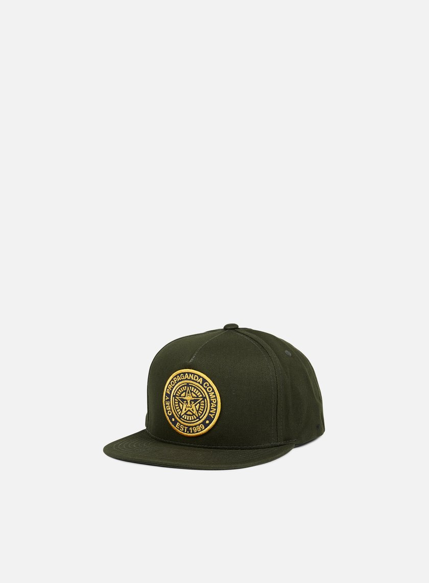Obey - 89 Company Snapback, Forest