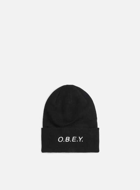 cappellini obey alert beanie black