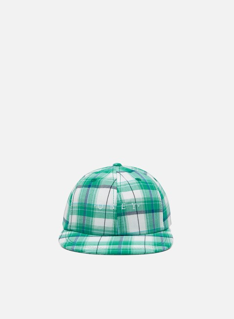 Outlet e Saldi Cappellini 5 Panel Obey Arthur 6 Panel Strapback