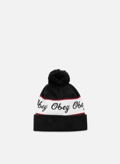 Obey - Ashland Pom Beanie, Black 1
