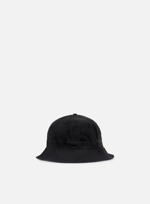 cappellini obey atlantic bucket hat black