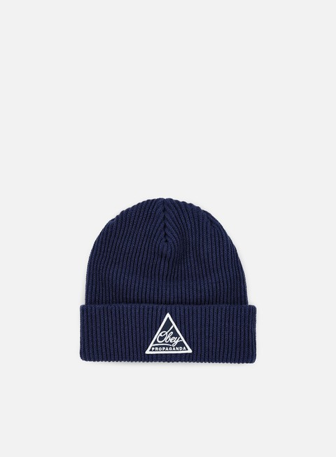 cappellini obey augusta ii beanie navy