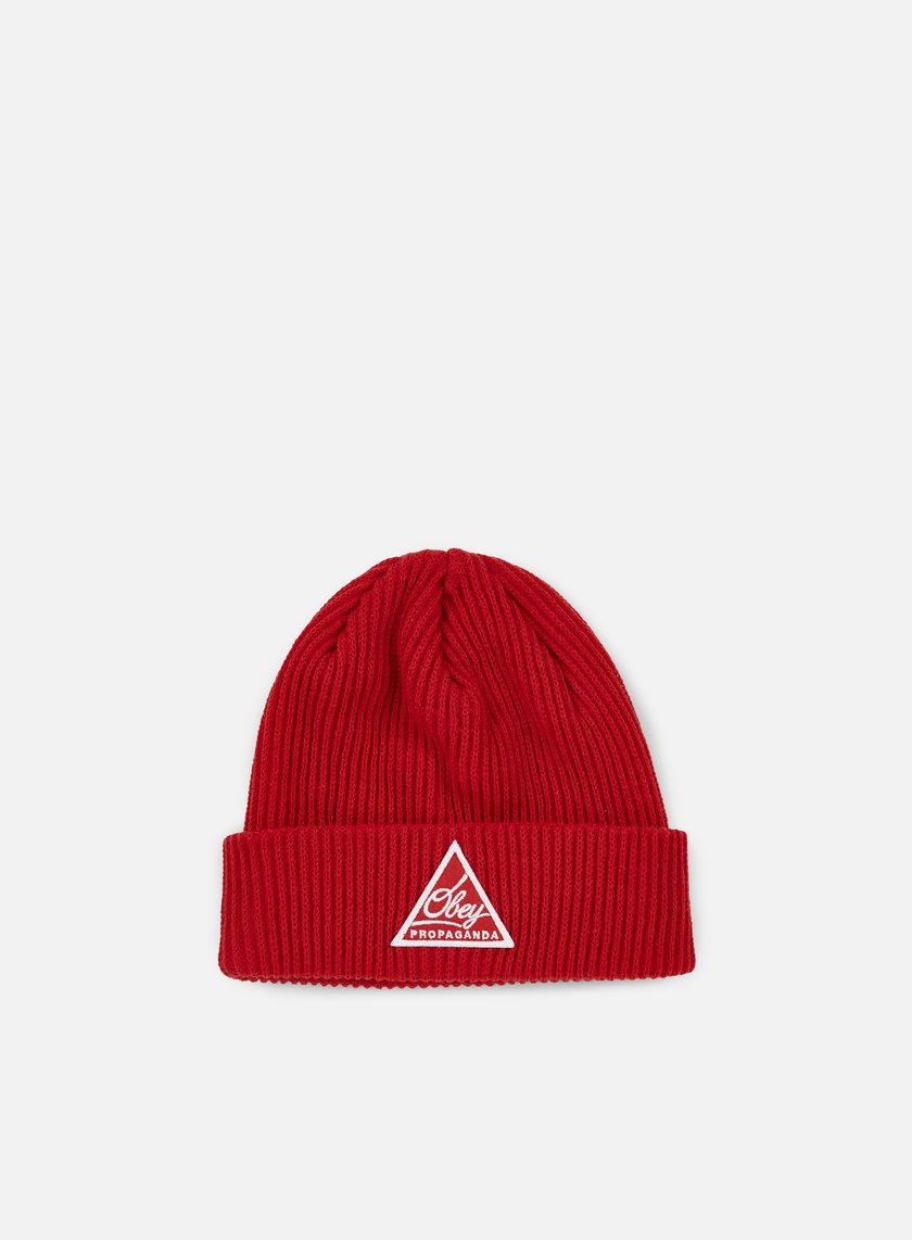 Obey - Augusta II Beanie, Red