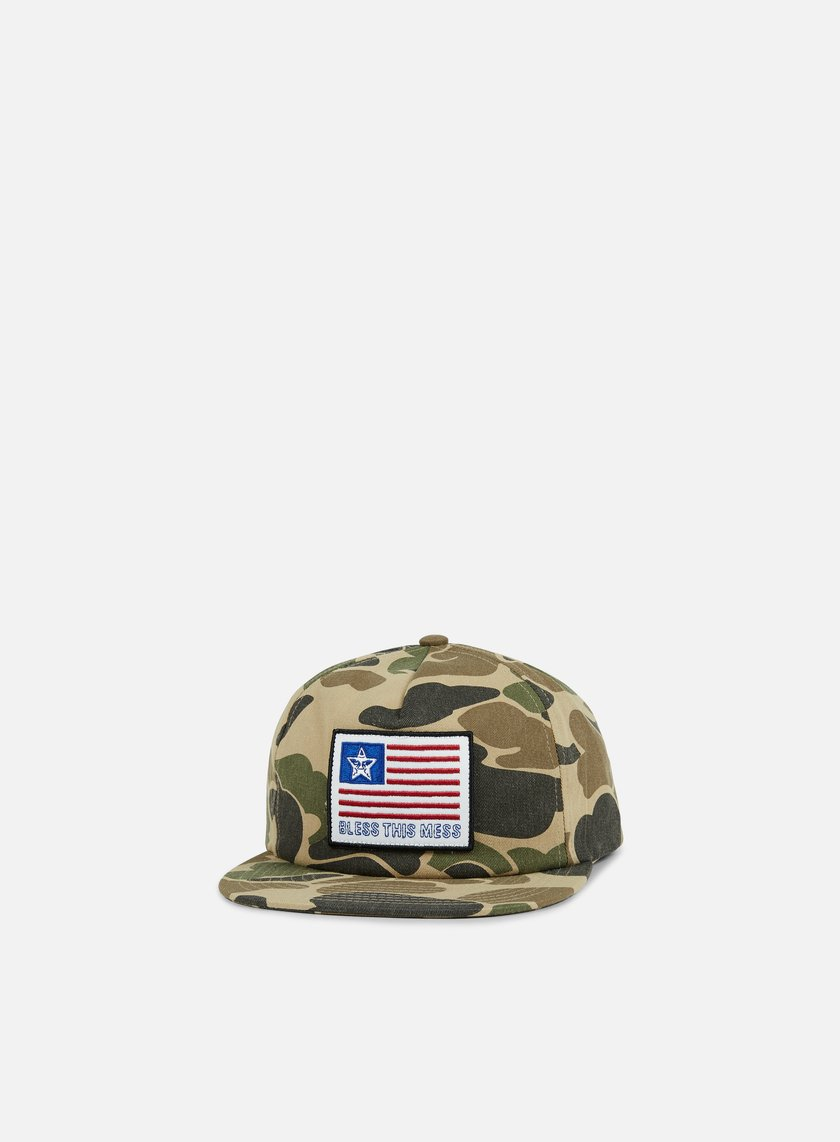 Obey - Bless Snapback, Field Camo