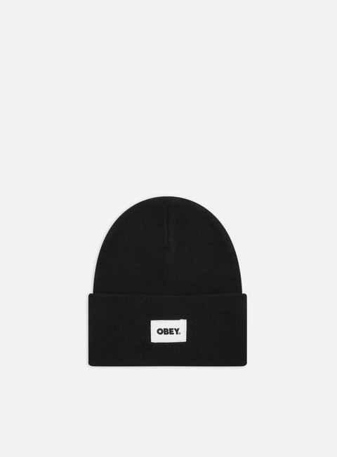 Beanies Obey Bold Label Organic Beanie