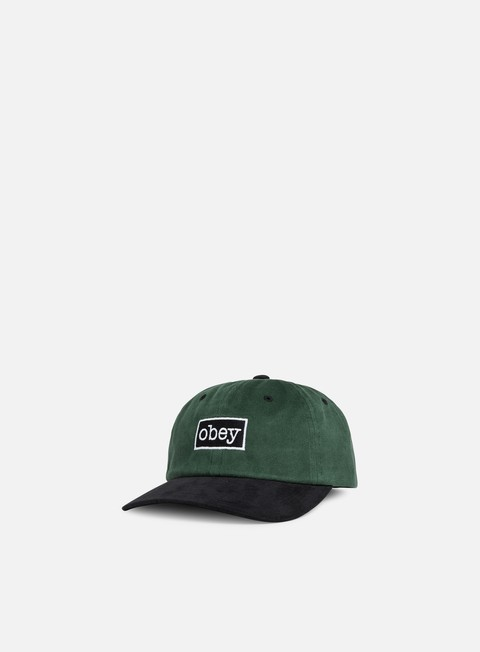 cappellini obey brooks 6 panel snapback dusty green