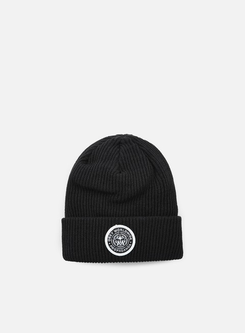 cappellini obey classic patch beanie black