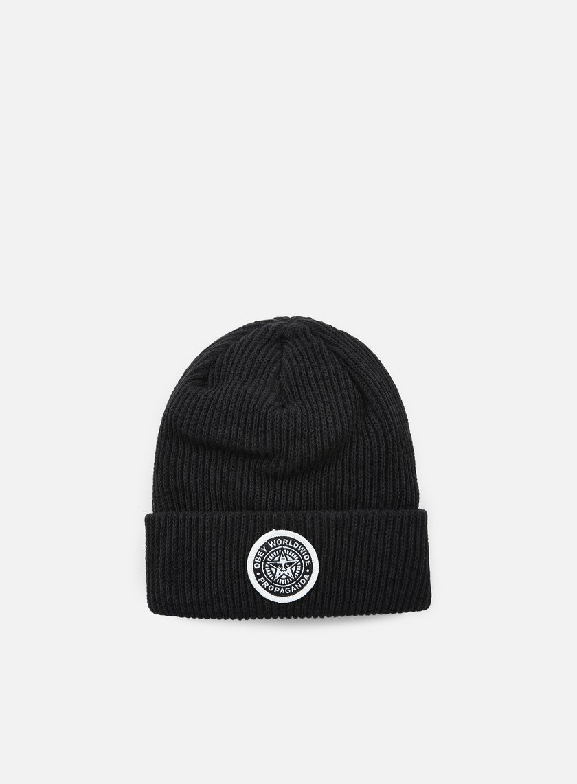 Obey - Classic Patch Beanie, Black