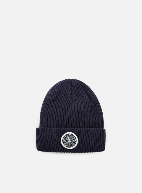 cappellini obey classic patch beanie navy