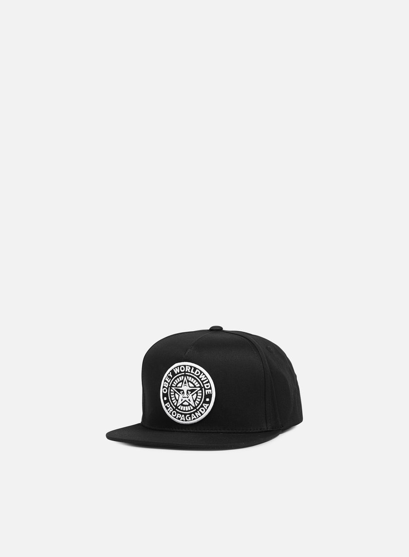 Obey - Classic Patch Snapback, Black