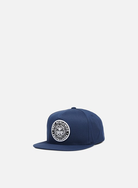 cappellini obey classic patch snapback navy