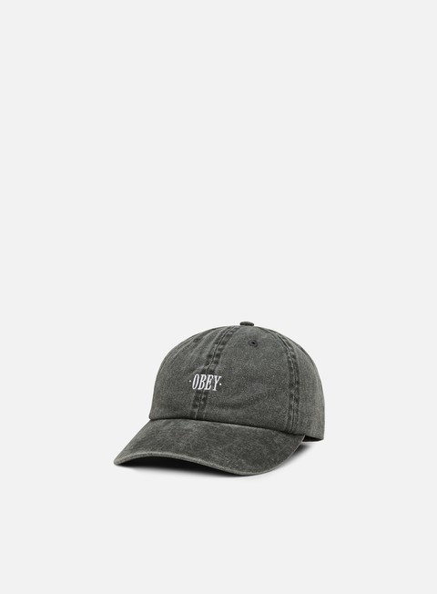 cappellini obey cress 6 panel hat black