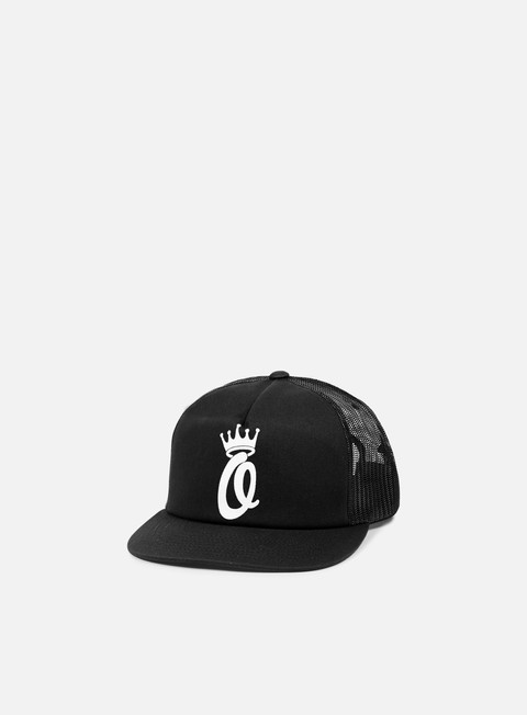 cappellini obey crown trucker hat black