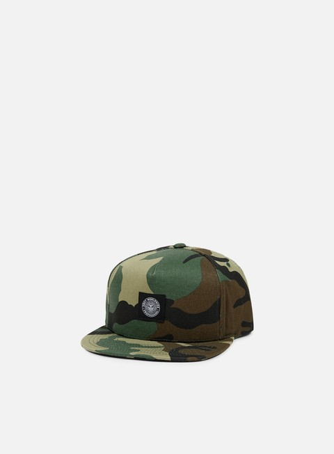 cappellini obey downtown snapback field camo