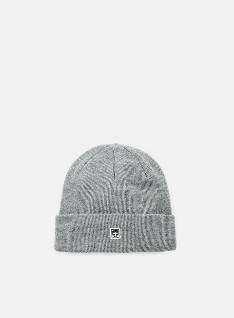 cappellini obey eighty nine beanie heather grey