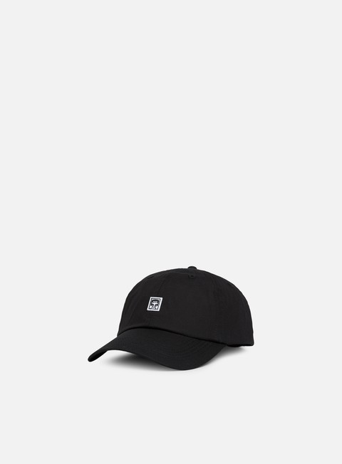 cappellini obey eighty nine ii 6 panel hat black