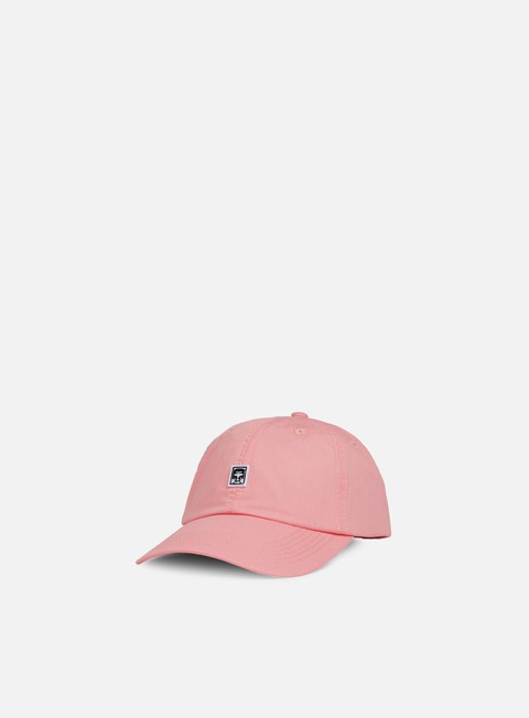 cappellini obey eighty nine ii 6 panel hat pale coral