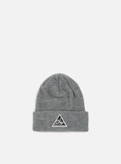 cappellini obey escape beanie heather grey